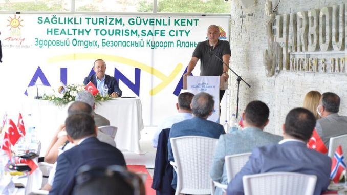 Υγιής τουριστική συνάντηση στην πόλη της Αττάλειας