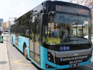 Numbers of public transportation in Antalya have been increased