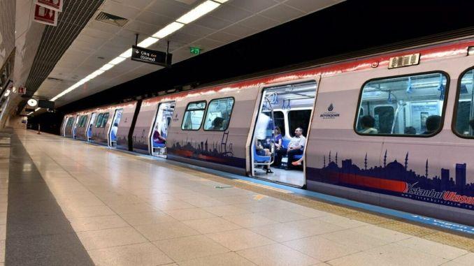 atakoy ikitelli metro hattinda tunel kazisi tamamlaniyor