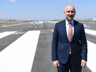 minister Karaismailoglu erzurum airport opened the cat system