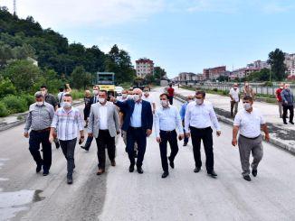 predseda zoroglu študoval cestné práce skupiny yavuz