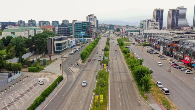 efforts are underway to relieve traffic in Bursa