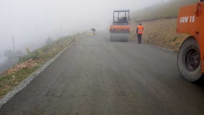 work on the way to cambasi topcam started again