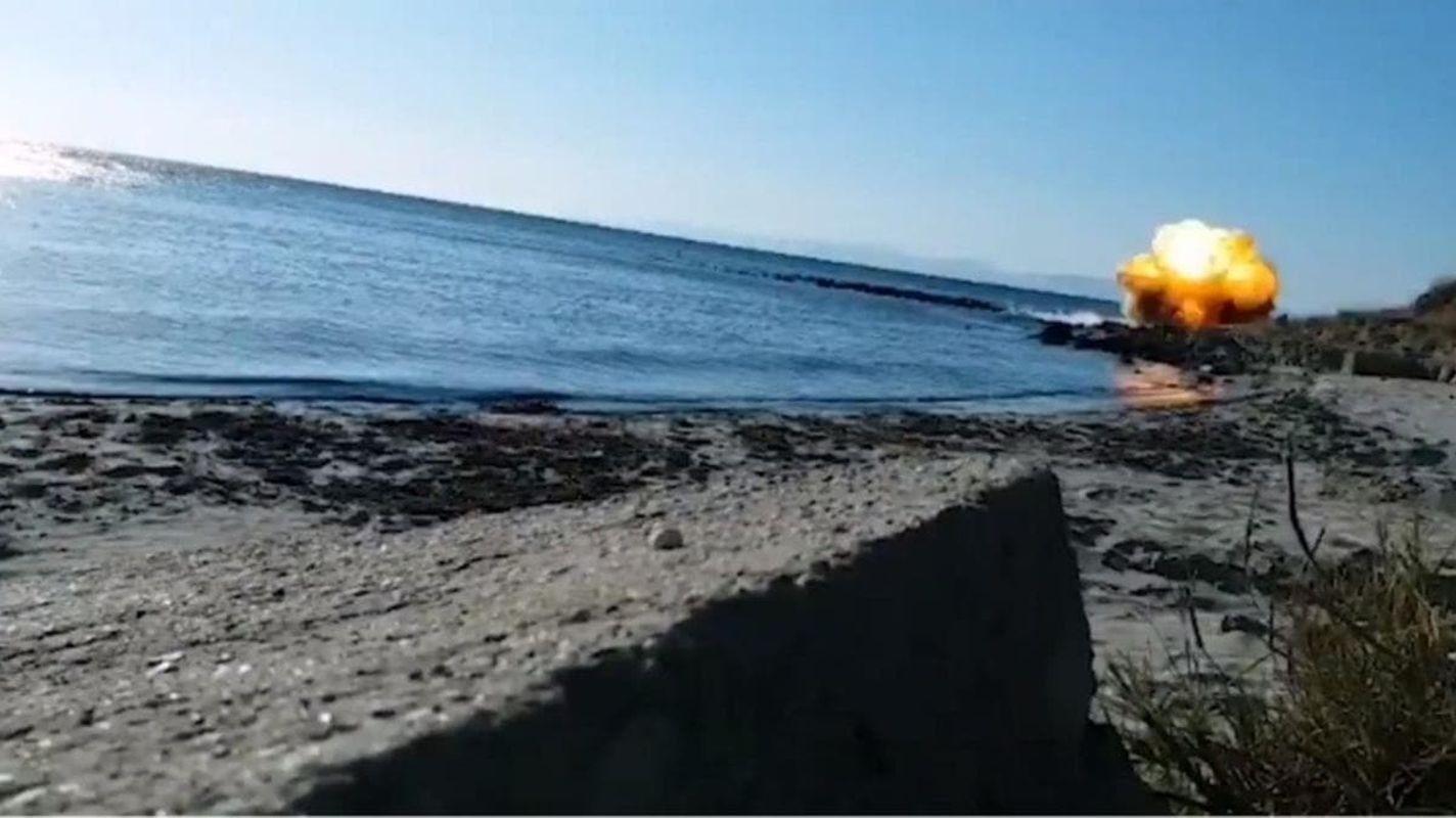 canakkale savasindan kalma tarihi top mermisi imha edildi