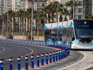 公司參加了cigli電車的招標