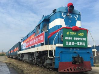 Povečanje blaga, ki ga prevažajo evropski tovorni vlaki