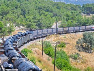 den nye rute for jern og silke Asien og europæisk godstransport