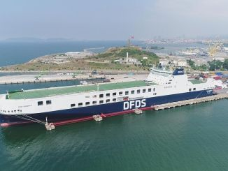 dfds mediterranean business unit celebrates the first year of coming to the set