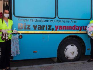 gardróbusz örömteli a gyerekeket az ünnep előtt