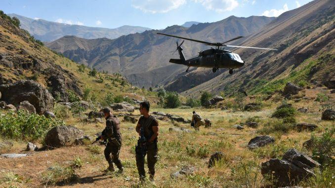 Yildirim cilo operation started in Hakkari