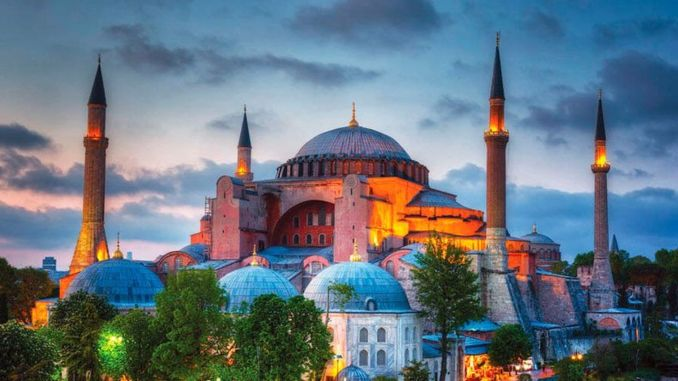 BB Takes Precautions for First Friday Prayer in Hagia Sophia
