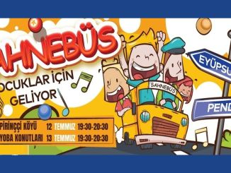 ibb will meet the most distant points of Istanbul with the arts with Sahneebus