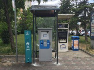 Het tankstation van Kocaelikart is op elk punt in gebruik