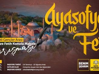A contest of articles about Hagia Sophia and conquest from Konya