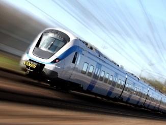 Lettország nagysebességű vonat
