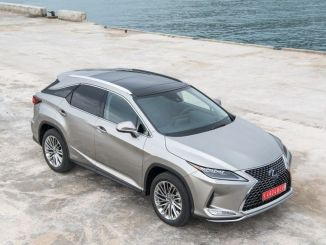 Renovation in Turkey Lexus RX SUV Model Showroom