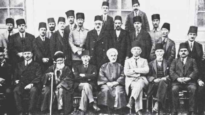 What are the decisions of the congress erzurum congress of the national struggle