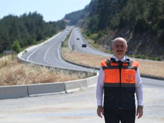 A large section of the Mugla Castle Highway is being completed this year.