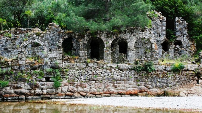 history and story of the ancient city of olympos