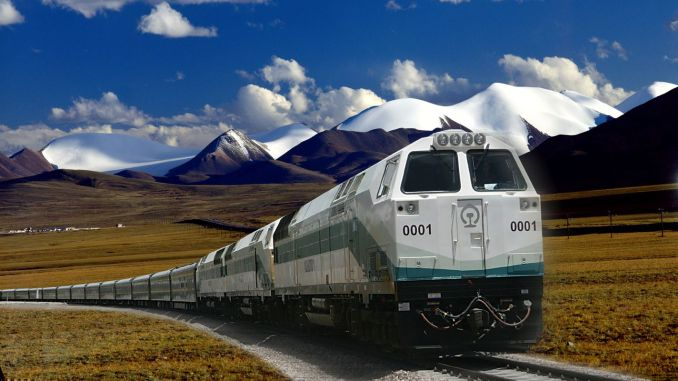 Electronic tickets will be used on qinghai tibet train services