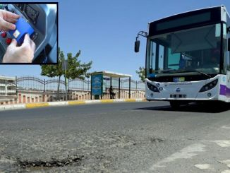 Broken roads in sanliurfa will be detected with smart detection system