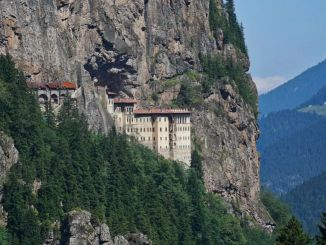What was the legend of the sumela monastery in few years?