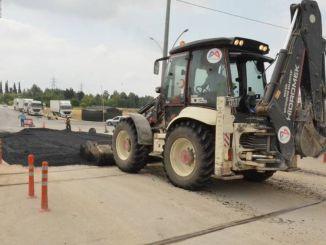 megújították a Fahrettin Pasa vasúti átjáró padlóját Tarsusban