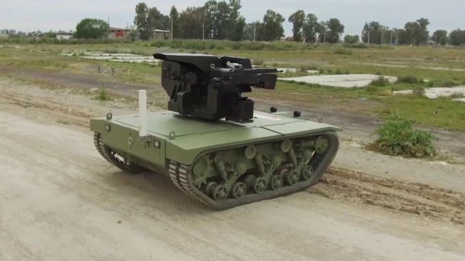 In the first unmanned Mini Tank turkiyenin signature Katmerciler