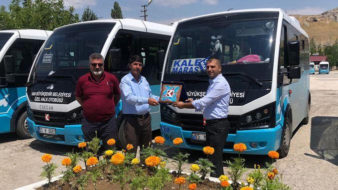 van karsan increased its service quality with gesture