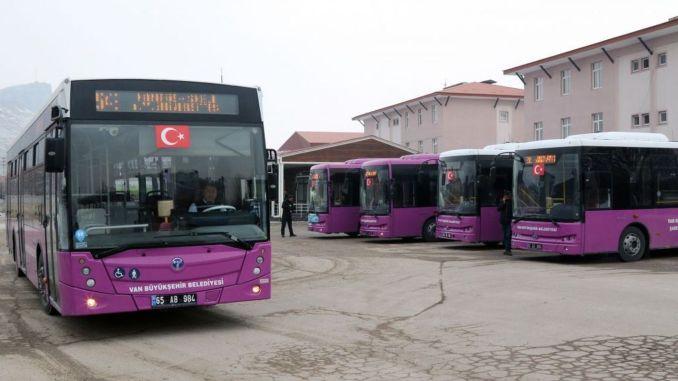 vanda free public transport