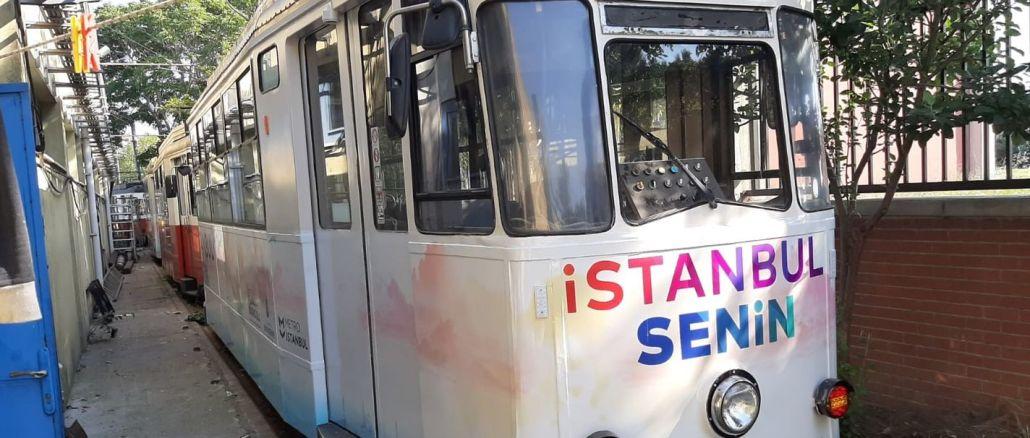 yenilenen moda tramvayi istanbullularla bulusuyor