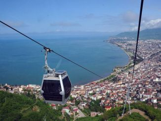 Boztepe cable car clocks changed for intense interest