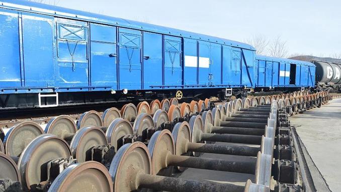 remont wagonów towarowych