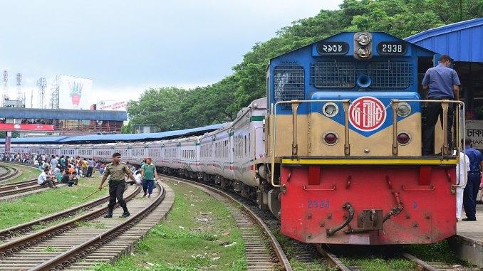 Željeznica u Bangladešu
