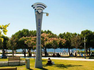Internet Gratis dan Nirkabel di 30 Distrik Izmir