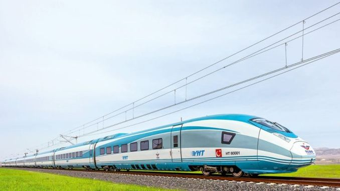 Siemens Sets Fetching YHT received from Germany to Turkey
