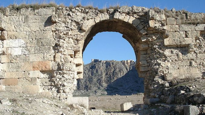 Where is the ancient city of anavarza the history and history of the ancient city of anavarza