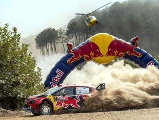 a rally világbajnoksága szeptemberben
