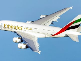 Emirates starts its flight to Guangzhou with flagship a