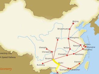 guiyang high speed rail map