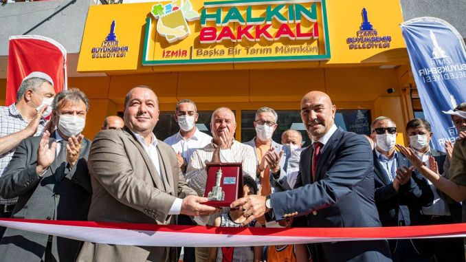 the people's grocery store was opened in menemen