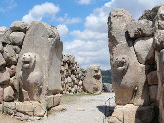 Hatusas antike Stadt, in der Geschichte und Geschichte