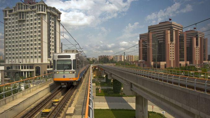 ο αριθμός των ταξιδιών στα μέσα μαζικής μεταφοράς στην Κωνσταντινούπολη αυξήθηκε κατά ένα ποσοστό