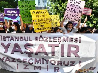 Call from Istanbul women to government to Istanbul contract