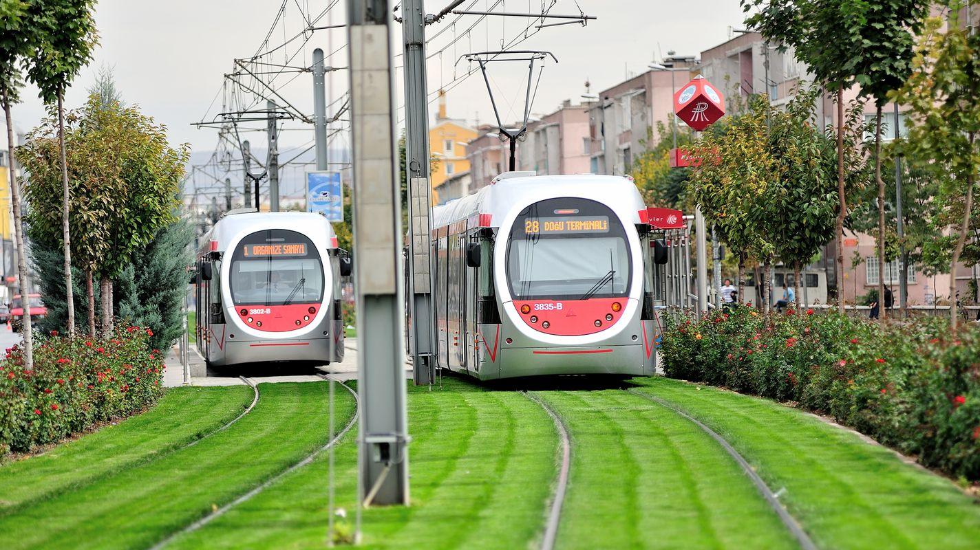 A Kayseri könnyű vasúti meghosszabbításának tíz képesítési pályázata
