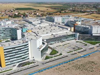 Einfacher Zugang zum Krankenhaus der Stadt Konya