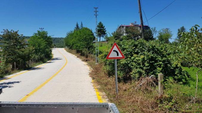 Útépítés a biztonságos szállításhoz Samsunban