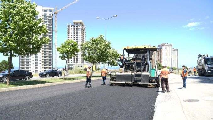 Half of the targeted kilometer road was completed