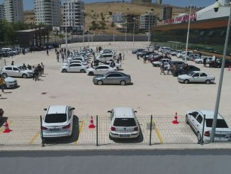 The biggest open car market of sanliurfan has opened