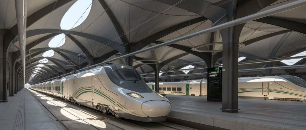 suudi arabistandaki harameyn hizli tren istasyonunda yangin